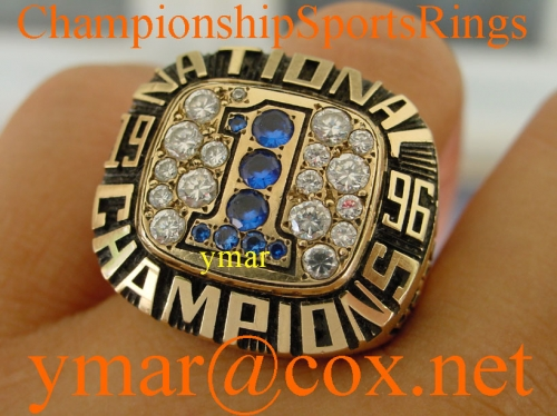 1996 Florida Gators National Championship 10K Ring once owned by NFL Player Eugene McCaslin
