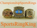 2006 Florida BCS National Championship Players 10K White Gold Ring.  This is one MONSTER and Rare Ring as you can see by
