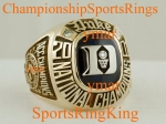2001 Duke National Championship Player 10K Ring.  Size 11.  $$$$ SOLD $$$