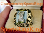 1993 North Carolina National Championship Player 10K Ring.  Player went onto play  in the NBA.  Size 12.   Make Offer!!!