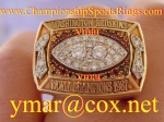 1987 Washington Redskins World Championship Players Diamond 10K Ring.  Made by Tiffany and Co.  $$$ Make Offer $$$