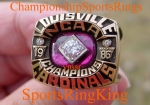 1986 NCAA LOUISVILLE NATIONAL CHAMPIONSHIP 10K RING.  Size 11.  25 grams of 10K Gold.  $$$ SOLD $$$
