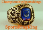 ORIGINAL GREEN BAY PACKERS WILLIE WOOD NFL HOF CHAMPIONSHIP HALL OF FAME 10K RING.  Size 11 1/2.  Ring weighs in at 32.3