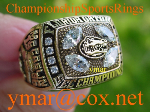 1996 Florida Gators SEC Championship 10K Ring once owned by NFL Player Eugene  McCaslin