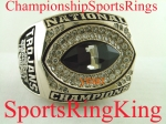 2004 USC BCS National Championship Players 10k Ring.  Size 13 1/2.   41.8 Grams of 10k Gold. Made by Jostens. $$$SOLD$$$