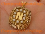 1993 Nebraska Big 8 Champions 10K Gold Pendant.  Made by Jostens.  $$$SOLD$$$