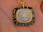 1996 Nebraska N.I.T. Champions 10K Gold Pendant with chain.  Made by Jostens  $$$SOLD$$$
