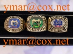 1973 Notre Dame National Championship Players 10K Ring from a Notre Dame All-American Player!!! Make Offer!!!!