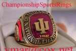 1976 Indiana National Championship Player 10K Ring.  Size 12 1/2.  Last Perfect Season. Super Rare Players Ring!!  Make
