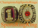 2006 Clemson Music City Bowl Player 10K Ring.  VERY LARGE!! VERY NICE!! Size 12.  $$$ SOLD $$$