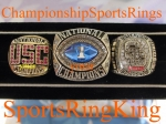 2006 Florida BCS National Championship Players 10K White Gold Ring. Size 12 $$$$SOLD$$$$