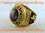 1971 Evansville National Championship 10K Players Ring.  Size 10 1/2  $$ SOLD $$