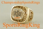 OKLAHOMA STATE 2000 FINAL EIGHT NCAA CHAMPIONSHIP RING.  Size 9 1/2. MINT!!! $$SOLD$$