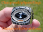 2002 Ohio State BCS National Championship 10K White Gold Ring.  MINT  Size 11.  $$$SOLD$$