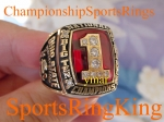 2002 Ohio State National Championship 10k Ring. MINT.  Size 11.  $$SOLD$$