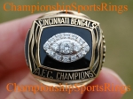 1988 Cincinnati AFC Championship Jostens Salesman Sample 10K Ring.  Size 11 1/2.  SOLD