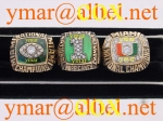 Miami Hurricanes 1987, 1989 and 1991 National Championship Rings