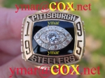 1995 Pittsburgh Steelers AFC Championship Ring