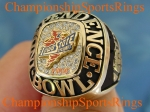2001 IOWA STATE INDEPENDENCE BOWL CHAMPIONSHIP 10K RING. Size 9 MINT  $$$SOLD$$$