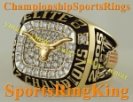 2006 TEXAS LONGHORNS ELITE 8 CHAMPIONSHIP NCAA BASKETBALL 10K RING. Size 12. 34.2 grams of 10K Gold.  $$$ SOLD $$$