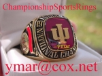 1976 INDIANA HOOSIERS NATIONAL CHAMPIONSHIP PLAYER RING